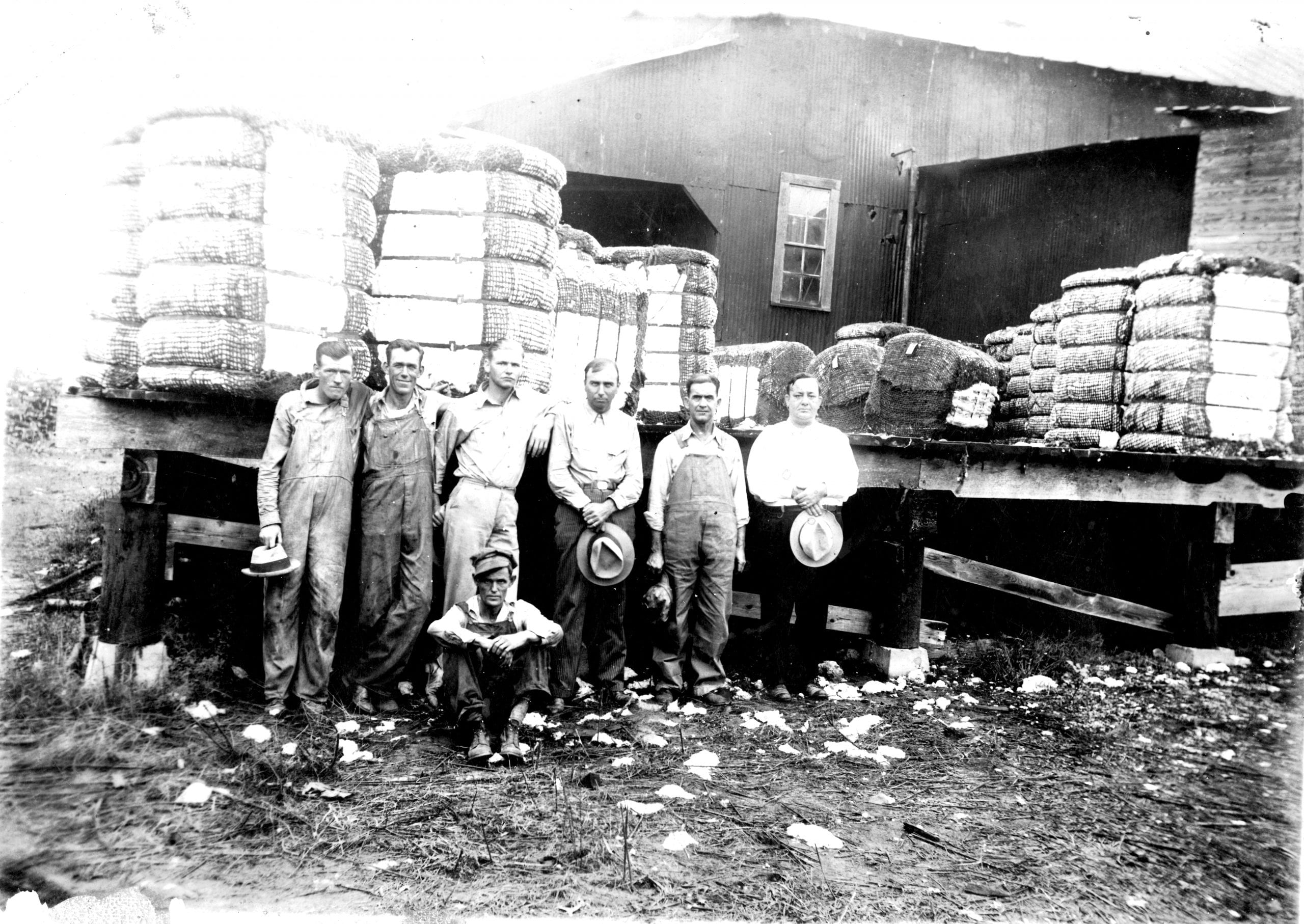 1934 – Swifton Gin – Cotton Bales