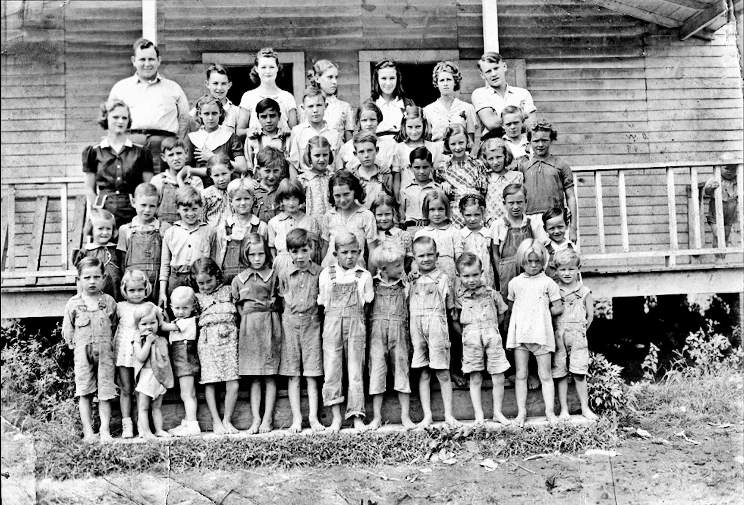 1939 – Jacksonport School Children