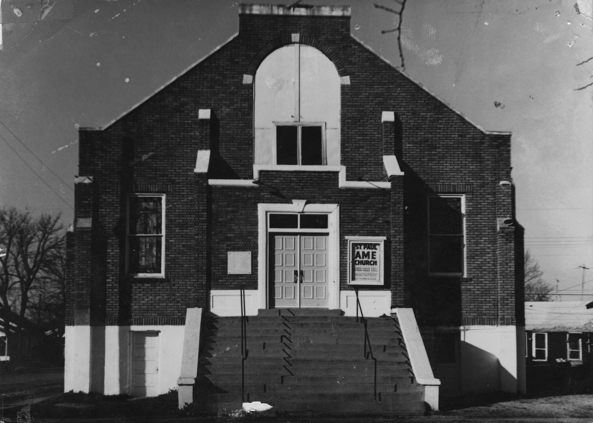 1940's – St. Paul AME Church