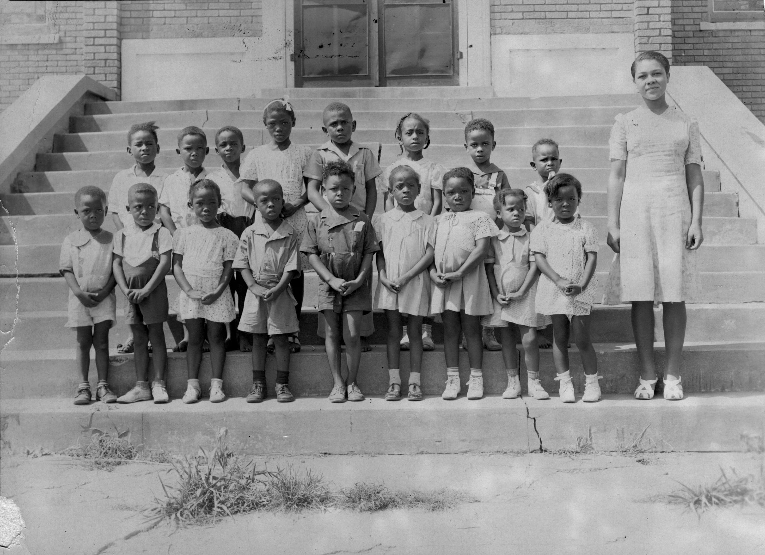 1941 – Kindergarten class, St. Paul AME
