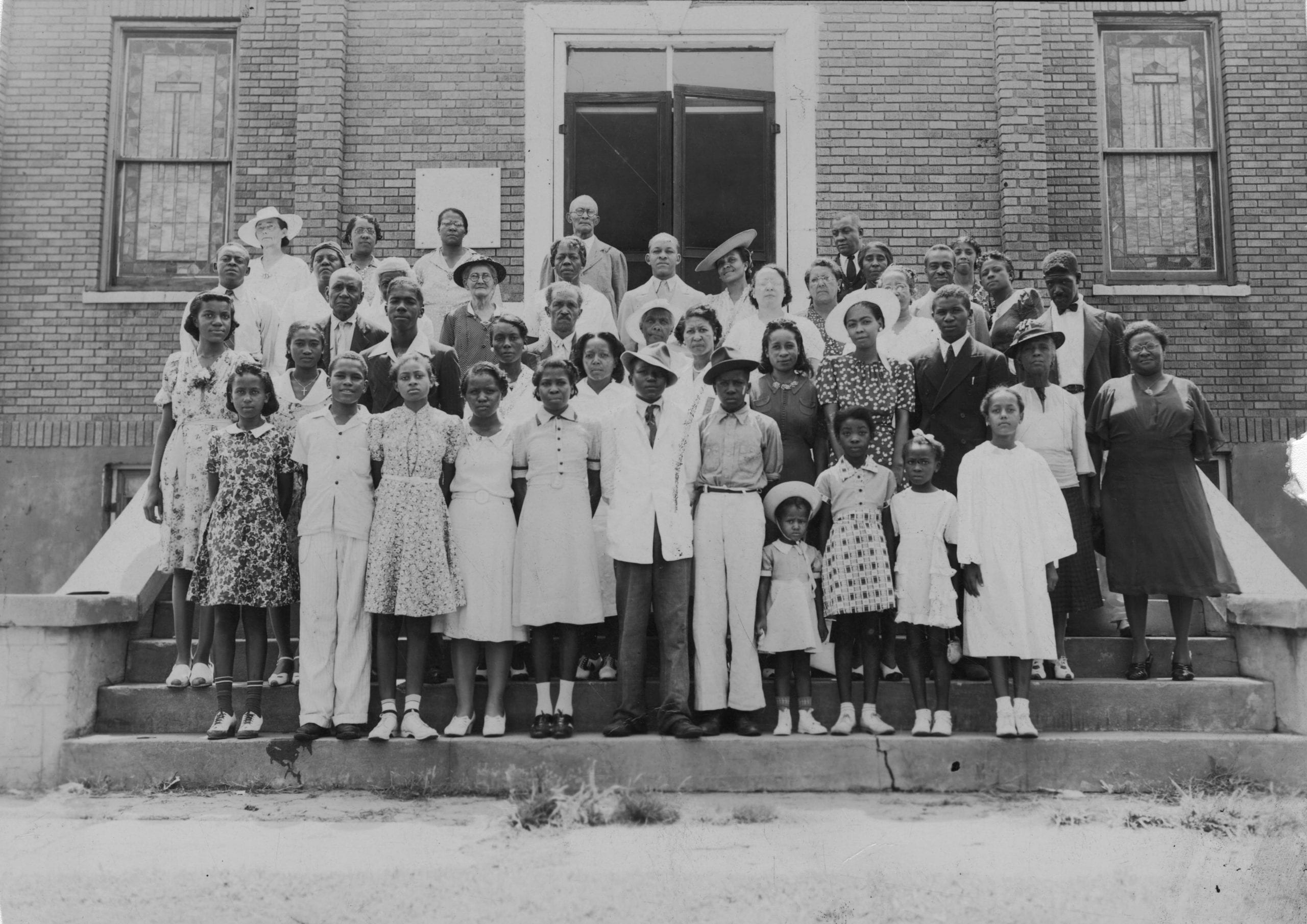 1940's – Unidentified members, St. Paul AME