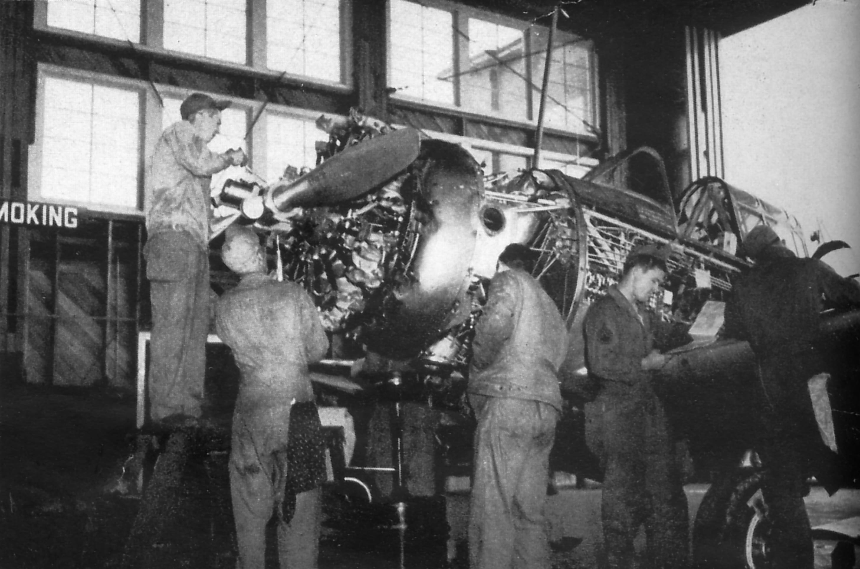1940's – Airbase – Maintenance