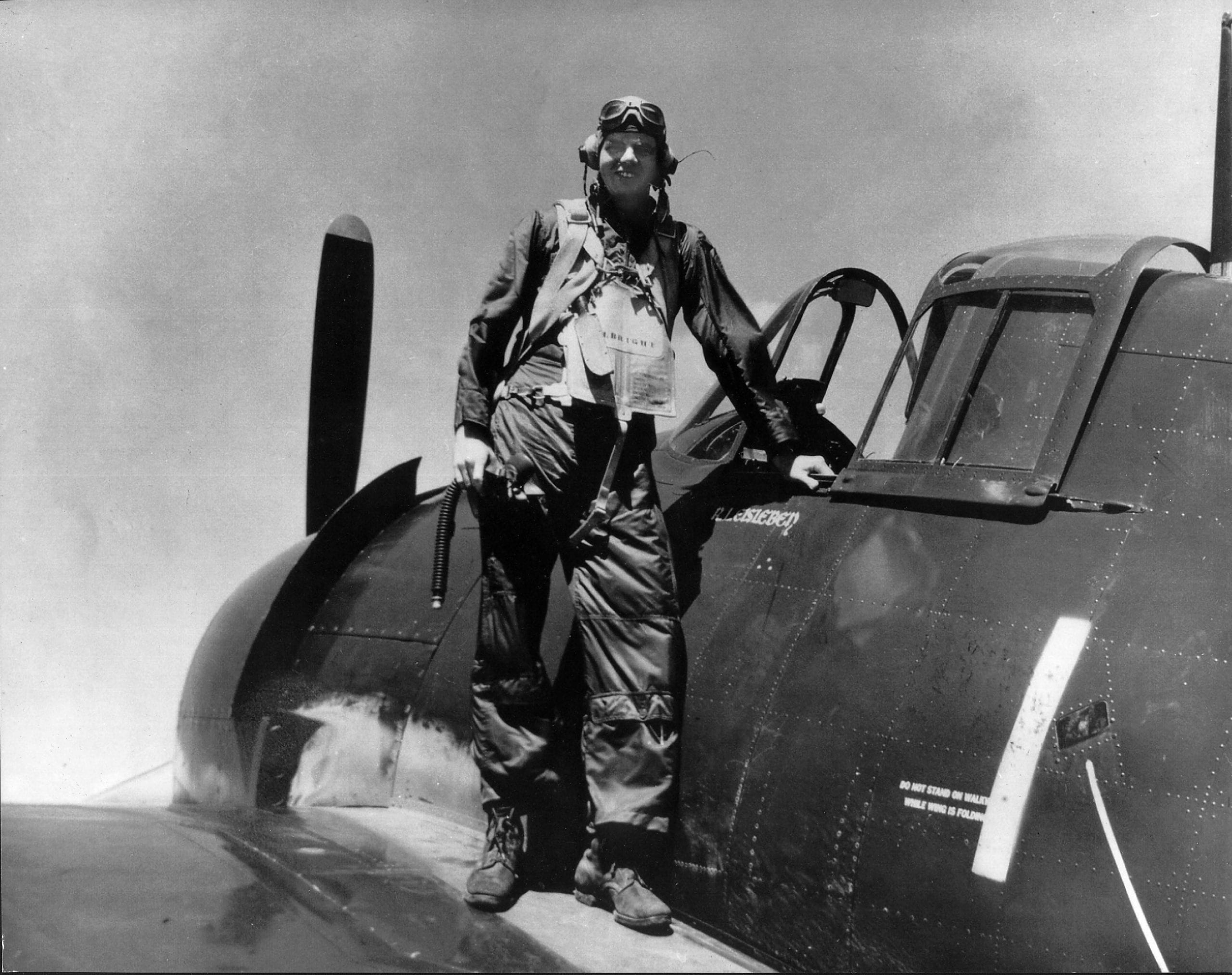 1940's – Pilot Wiley Albright