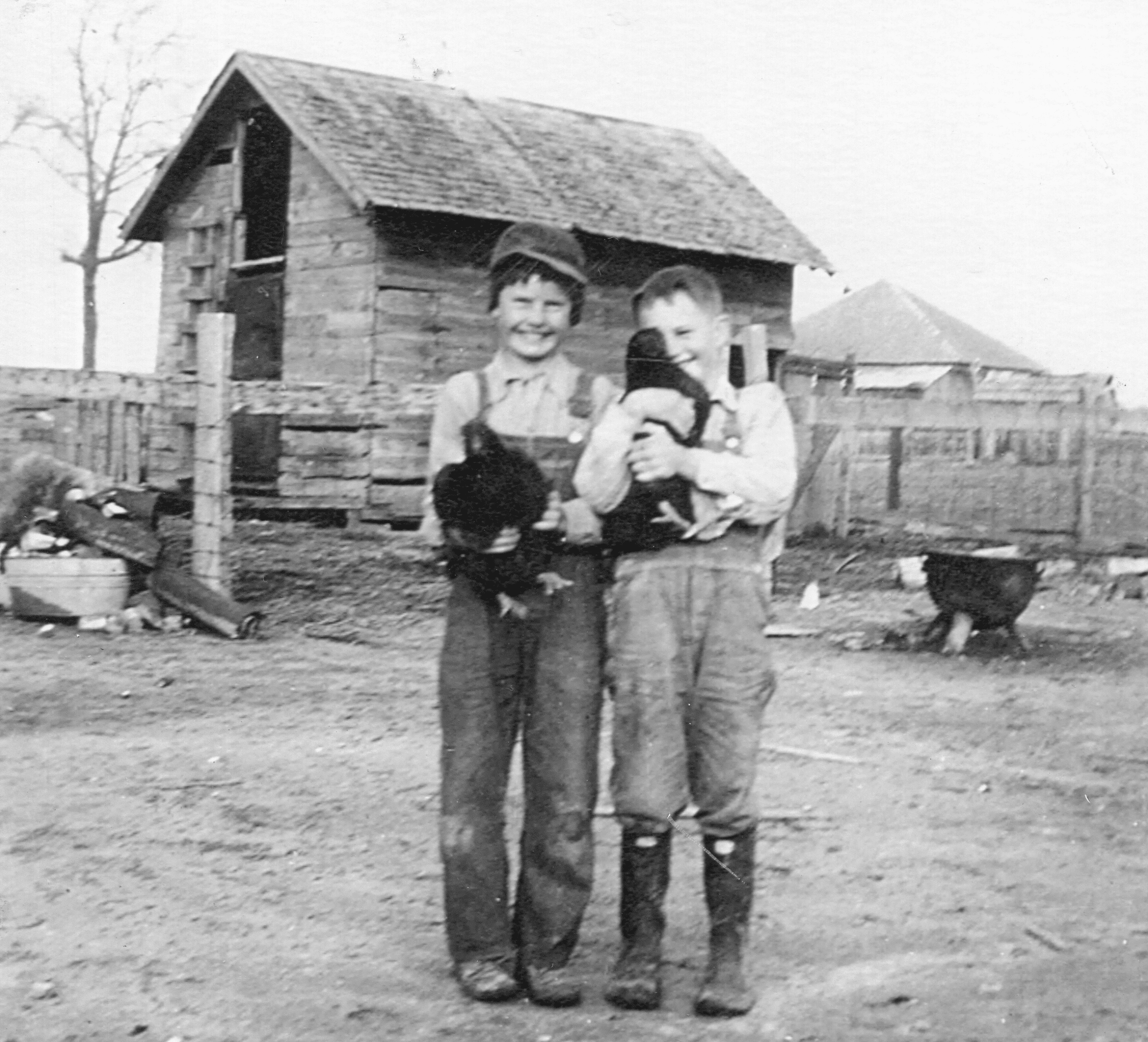 1940's – Tinsley and Hulen Boys
