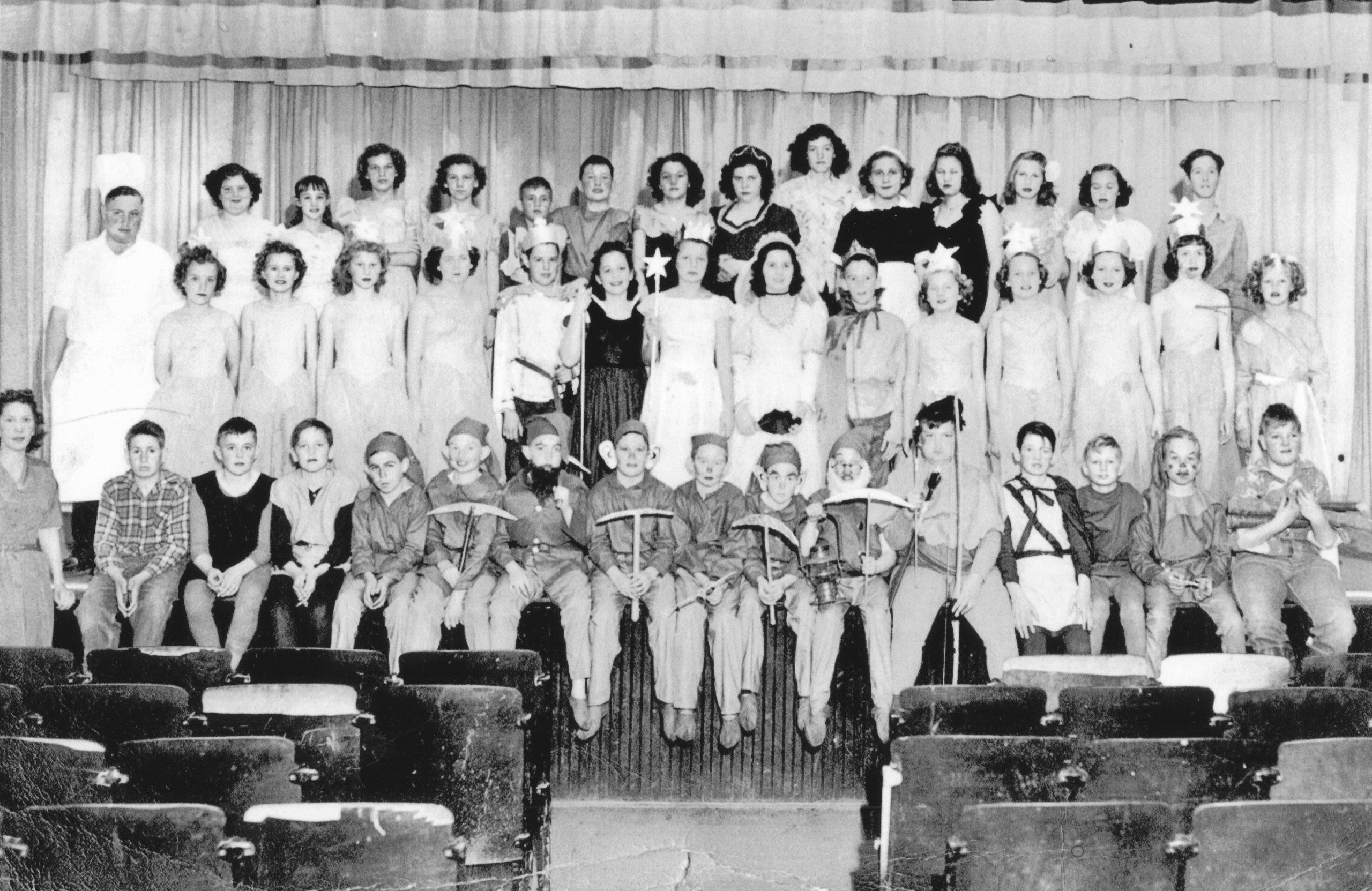 1950 – School Play – Snow White