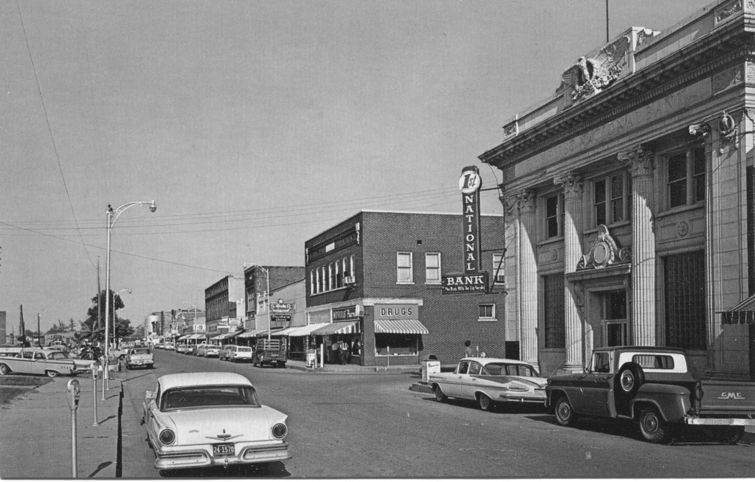 1950's – Downtown Newport