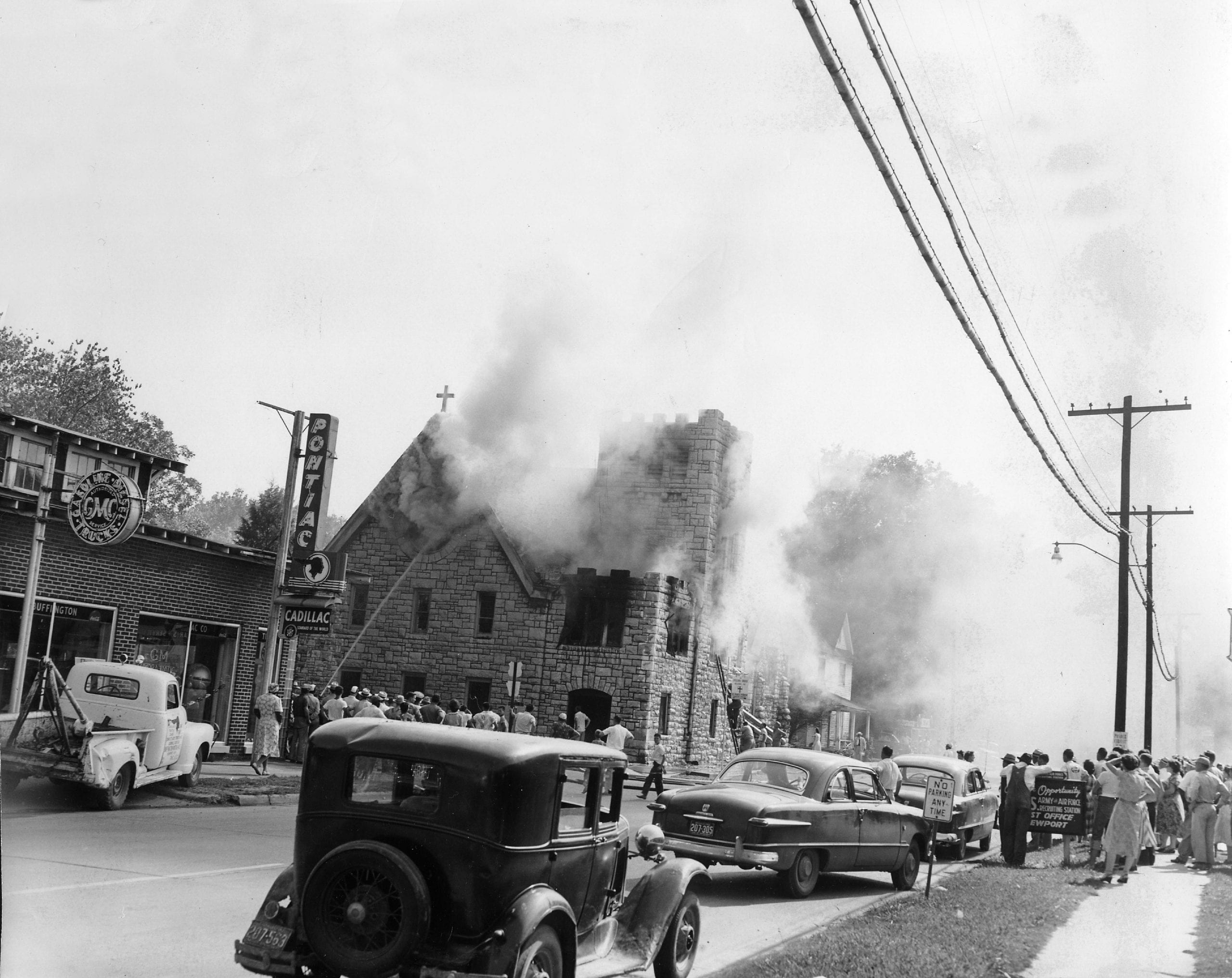 1951 – St. Paul's Fire