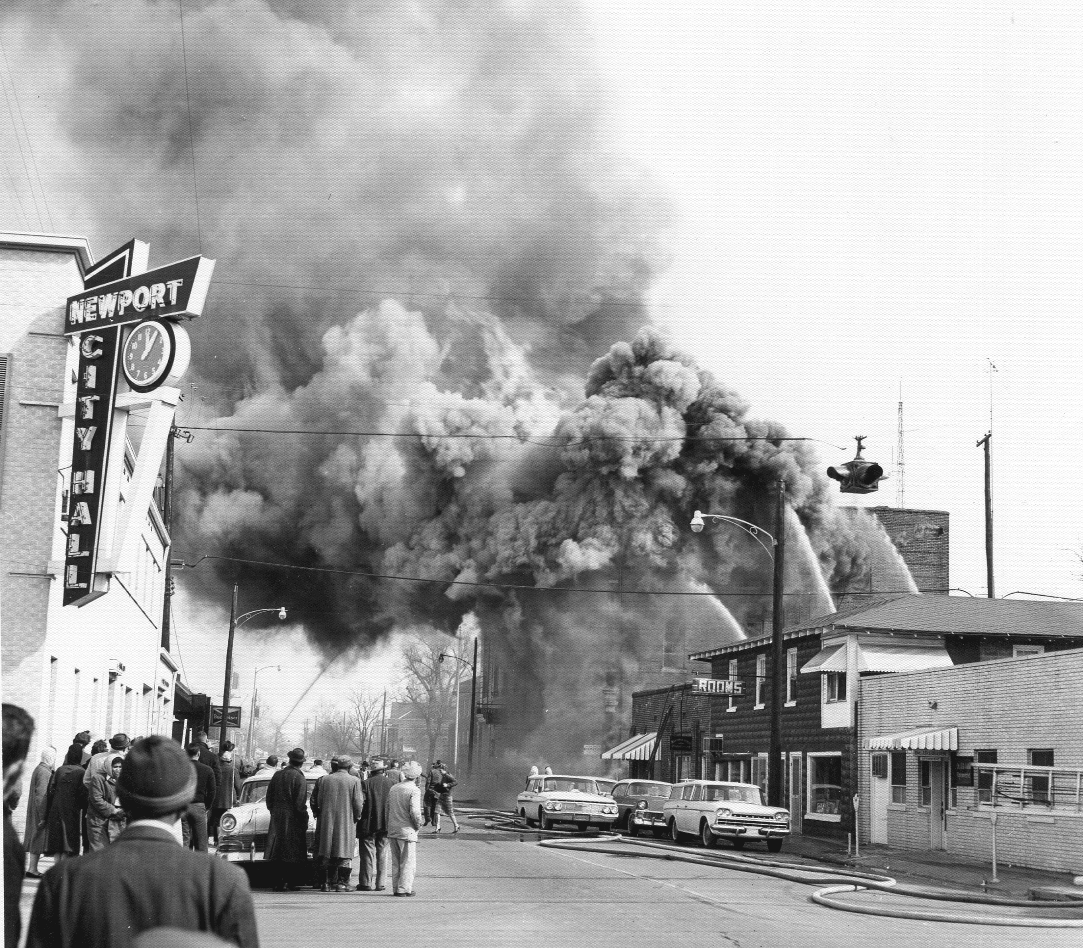 1960's – Fire at the Hazel Hotel