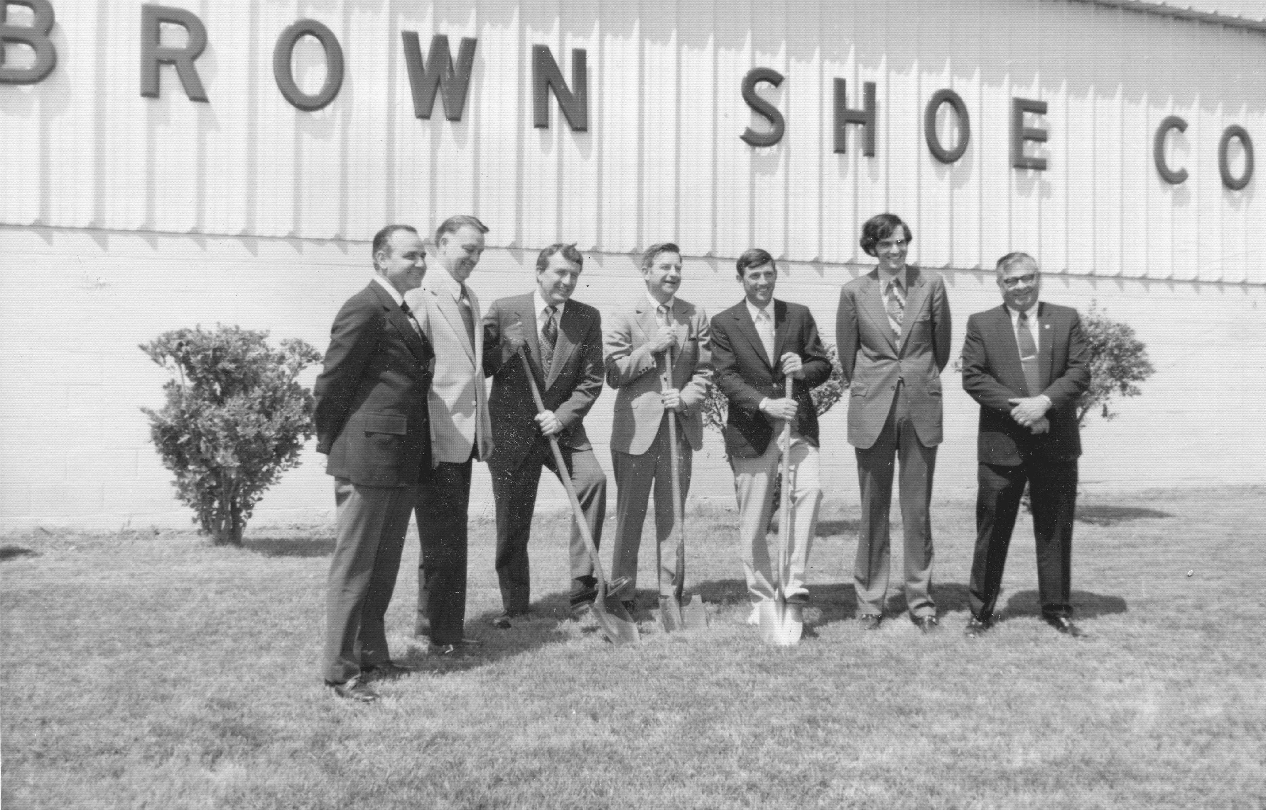 1960's – Brown Shoe Company Ground Breaking