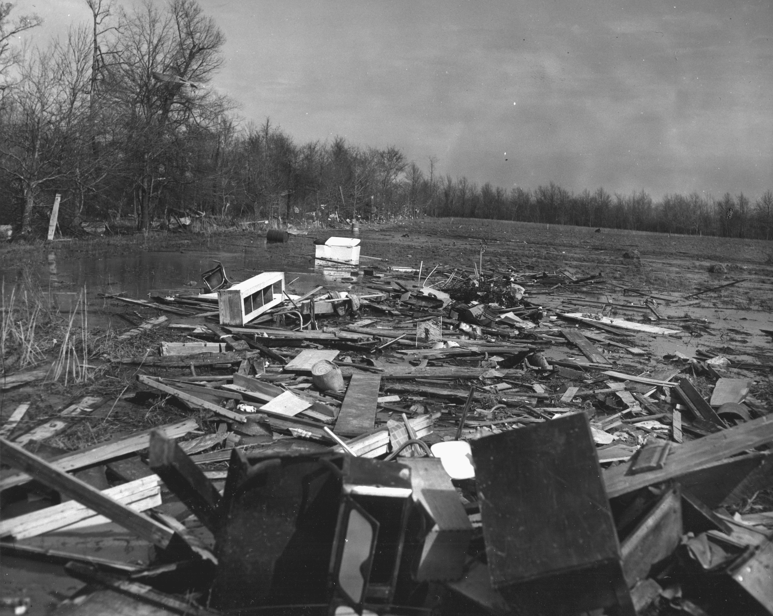 1960's – Tornado Destruction