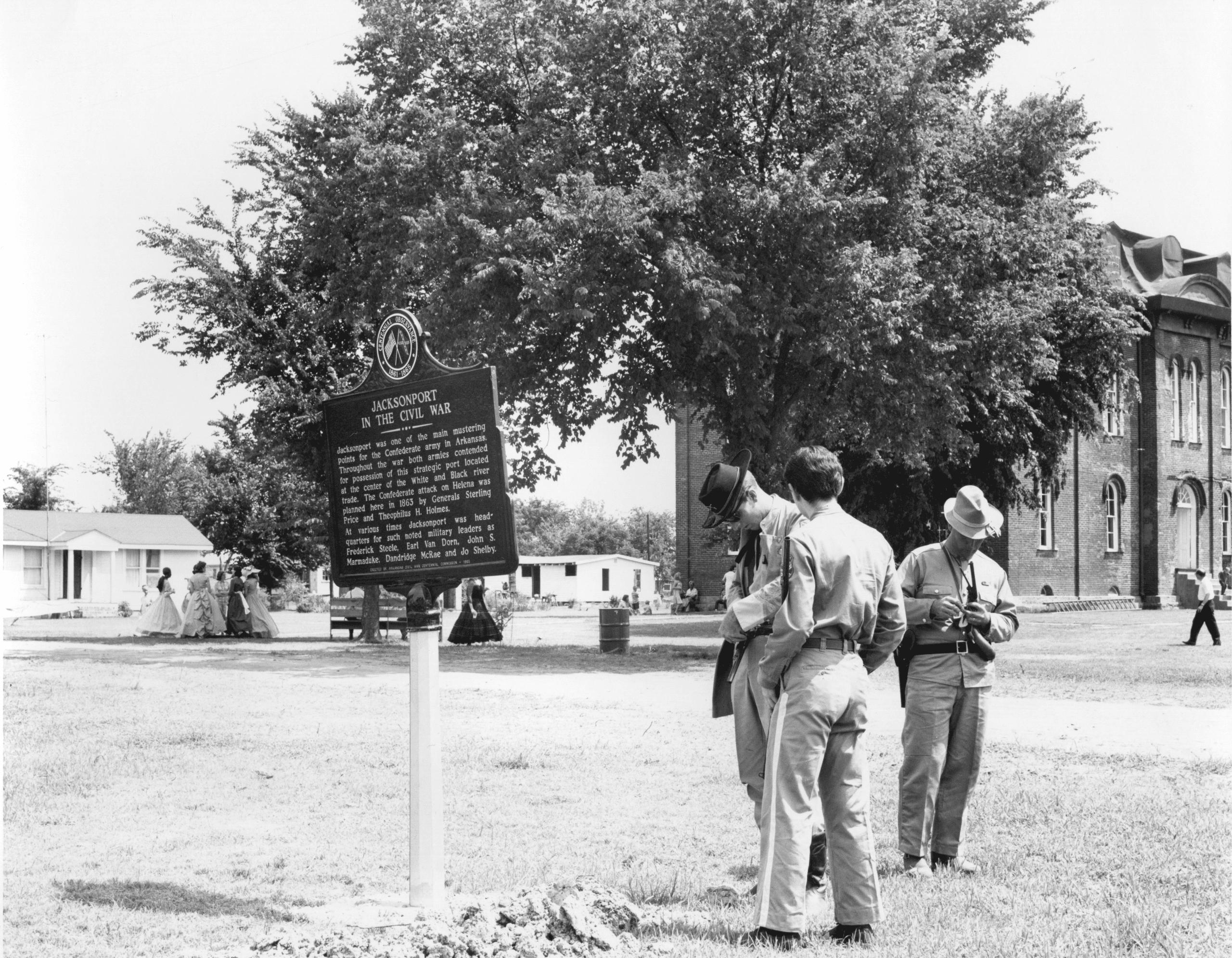 1960's – Reenactors at Jacksonport